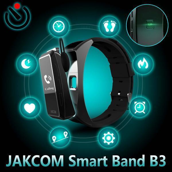JAKCOM B3 inteligente del reloj de la venta caliente en otras partes del teléfono celular como iqos bádminton pulsera de acero reloj inteligente