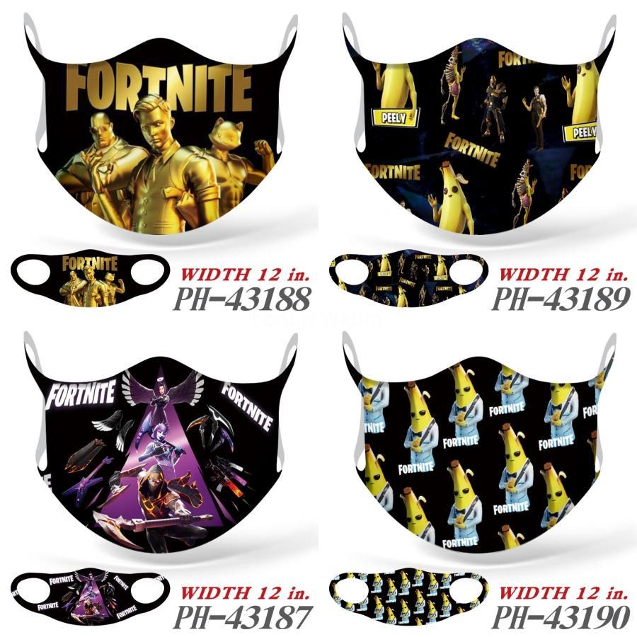 Tek Yüz Maskeleri Yetişkin Maskeler Renkli Maske 3 Katman Balck Gri Pembe Toz Ağız Maskeleri Kapak 3-Kat Dokuma Olmayan # 191