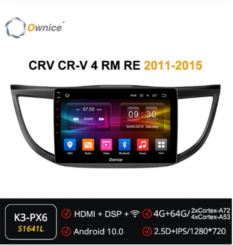 Ownice Octa Core 9 inch Android 10.0 4G 360 Panorama Car Radio ForHonda CRV 4 RM RE 2011 - 2020 Player Navi GPS DSP Audio
