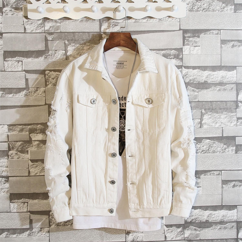 gXeUD ceket büyük işlemeli çift kat boyutu ceket hırka Sonbahar yeni erkek boyutu büyük erkek işlemeli ceket yeni bir çift yırtık sökük