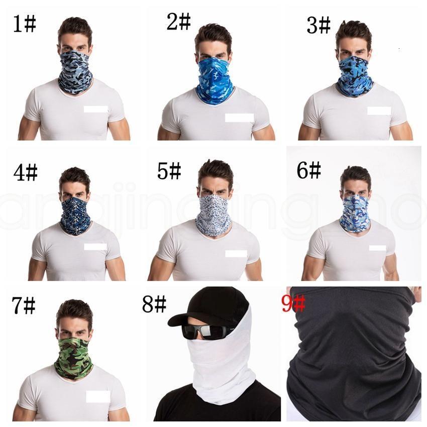 Camuffamento Stock Ice Seta esterna US maschera magica Unisex Ciclismo Turbante cupolino Sunscreen Sciarpa al collo Bandane