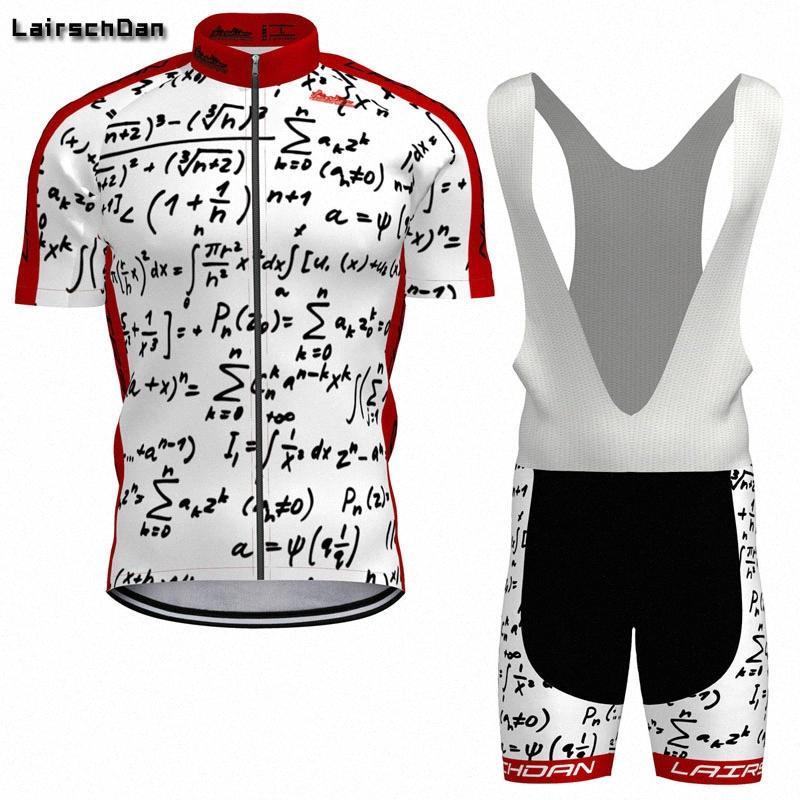 2020 2020 SPTGRVO LairschDan Summer Cycling Team Джерси Комплект с коротким рукавом Mtb Велоспорт одежда велосипед Wear Bib Shorts Gel Pad xhGB #