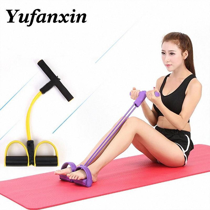 Fasce elastiche Pull Corde ginnico addominale vogatore della pancia della fascia di resistenza Home Gym Sport Training elastici per attrezzi Fitness Yh3Q #