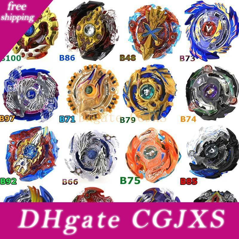 All Models 100 Designs Toupie Beyblade Burst Toys Arena Bayblade Metal Fusion God Fafnir Spinning Top Bey Blade Blades Toys Without Launcher