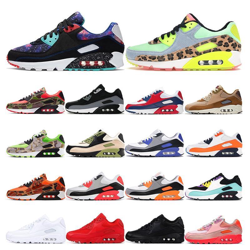 air max 90   für Männer Infrarot-Universität Red South Beach Grape International Triple weiß schwarz Sport Sneaker Trainer Größe 36-45