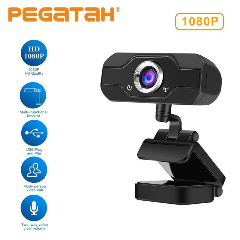 Webcam 1080p 60fps web cam 4K web camera con le telecamere microfono per pc usb fotocamera webcam full hd 1080p 4k