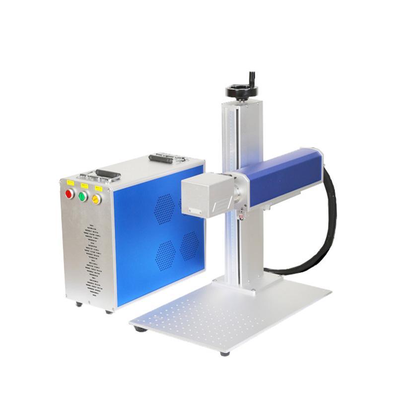 ZODO 20W Raycus المحمولة البسيطة ليزر وسم آلة النقش بالليزر آلة حفارة معدنية