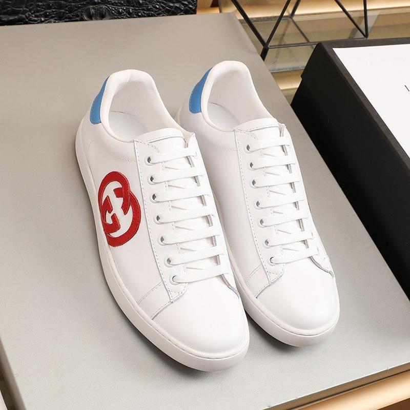 Mens Ace Sneaker Avec Mors Nouvelle arrivée Chaussures Homme de haute qualité extérieure Wlaking Chaussures Luxe Dentelle -Jusqu'à Bas Les hommes Chaussures Kuitixm
