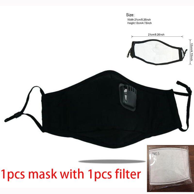 Festive Party Supplies Máscara protectora preto da boca Máscara boom2017 o favor de partido