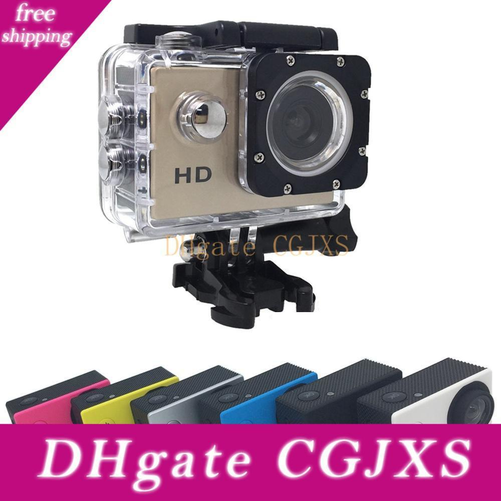 Cheapest A9 Sj4000 1080p Full Hd Action Digital Sport Camera 2 Inch Screen Under Waterproof 30m Dv Recording Mini Sking Bicycle Photo Video