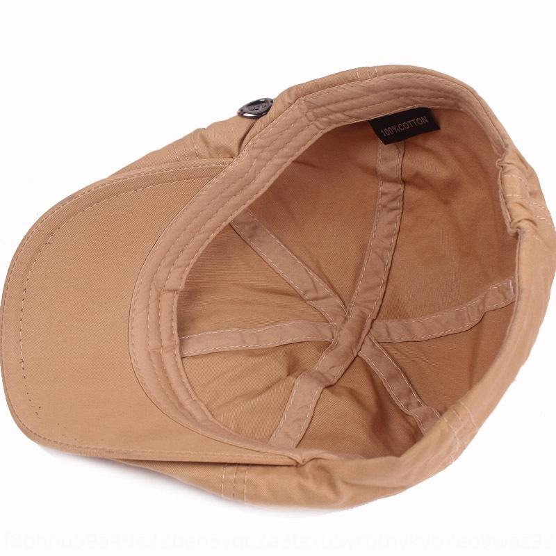 chapéu de outono e inverno para a frente dos homens Cotton boina chapéu New Beret Hatstyle cap Mulheres