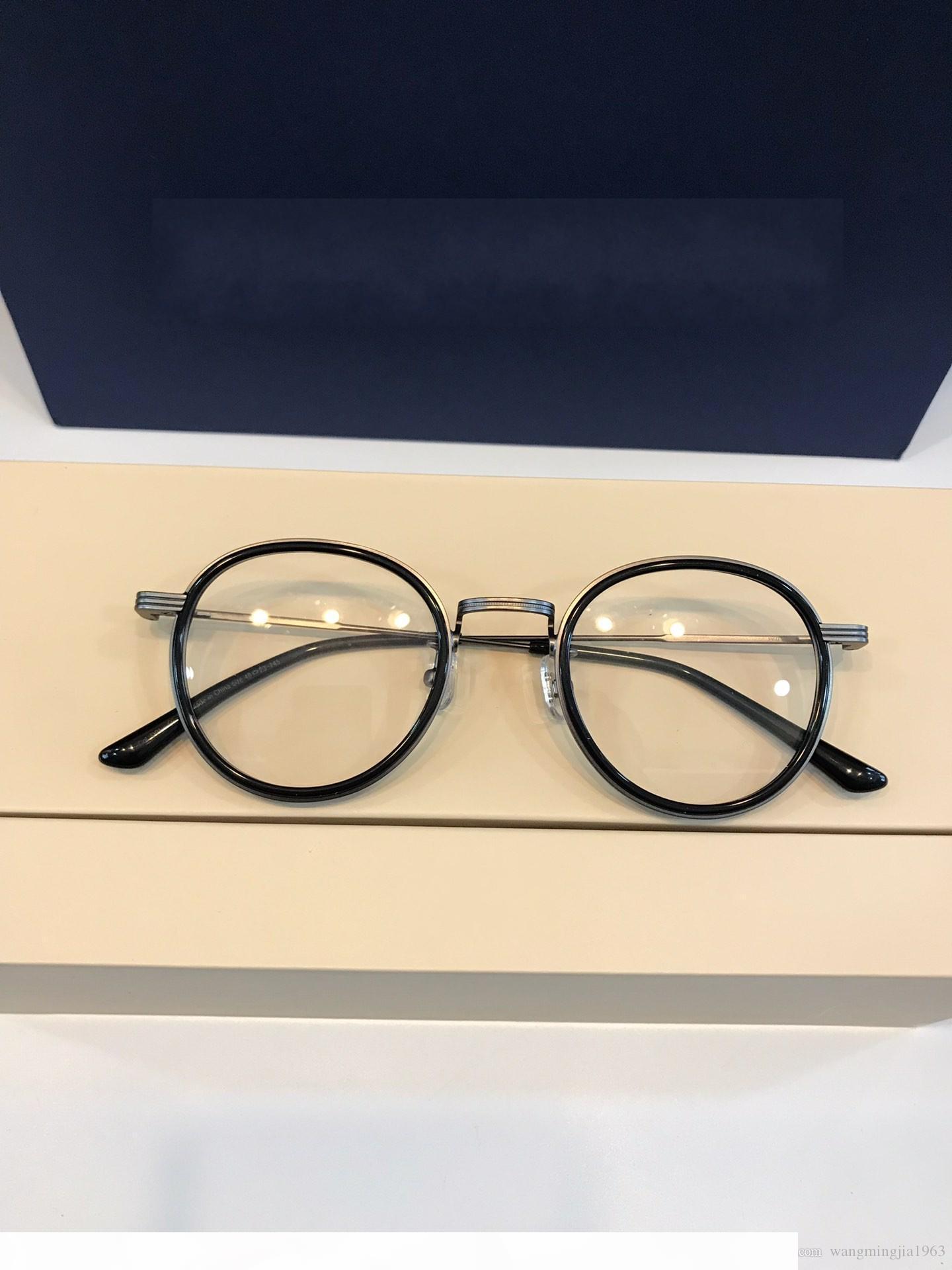 Nuove degli occhiali chiaro occhiali lenti telaio ristabilisce oculos de grau uomini e donne di miopia di vetro dell'occhio cornici GM03 con il caso