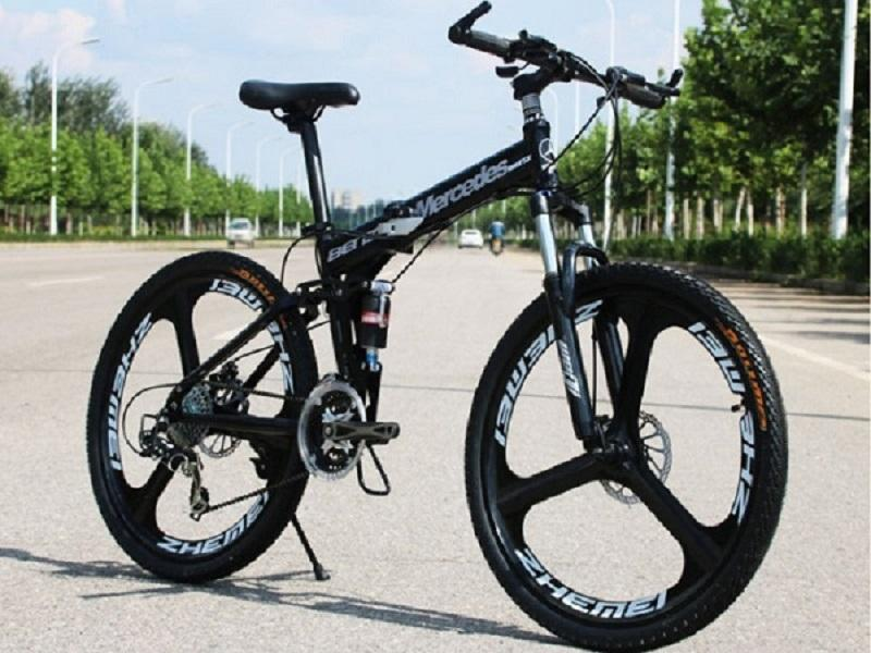Mountain bike high-end one-wheel bicycle 27 speed double disc brake bicycle