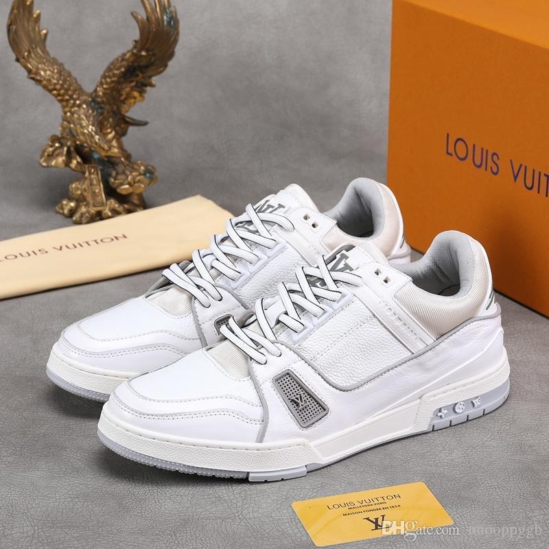 scarpe 2020WK nuovi uomini di sincronizzazione sito ufficiale moda casual, scarpe da ginnastica di viaggio di alta qualità, consegna veloce scatola originale Packag