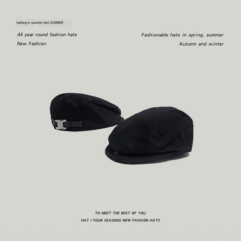 uqFK0 coreana estate moda stile tappo carta berreto uomini tacticalberet di e ins delle donne del Tutto-fiammifero High Street funzionale lingua d'anatra cappello fa