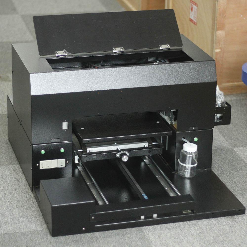 SHBK Small A3 universal flat UV printer mobile phone shell glass acrylic wood leather personalized custom inkjet equipment printing machine