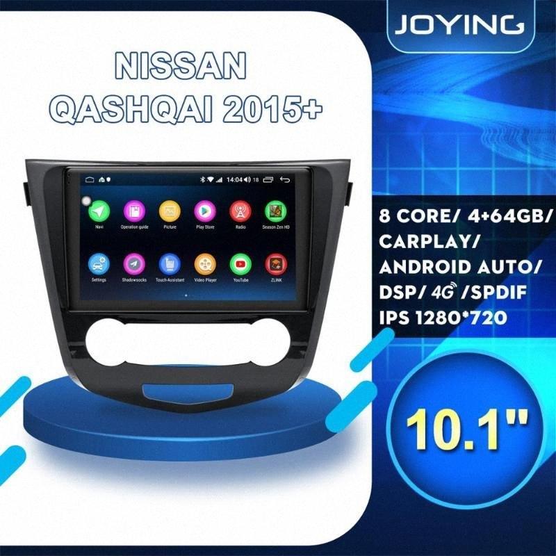 "10"" Android 8.1 dell'automobile DVD GPS per Qashqai X-Trail 2015 2016 2017+ Radio Navigation sistema stereo volante OBD2 0XNl #"