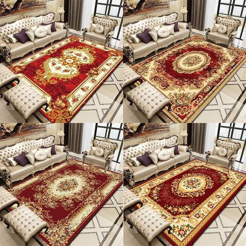 estilo sala de mesa de café de la alfombra de lujo europeo clásico nuevo dormitorio estilo chino alfombra casa sofá cama