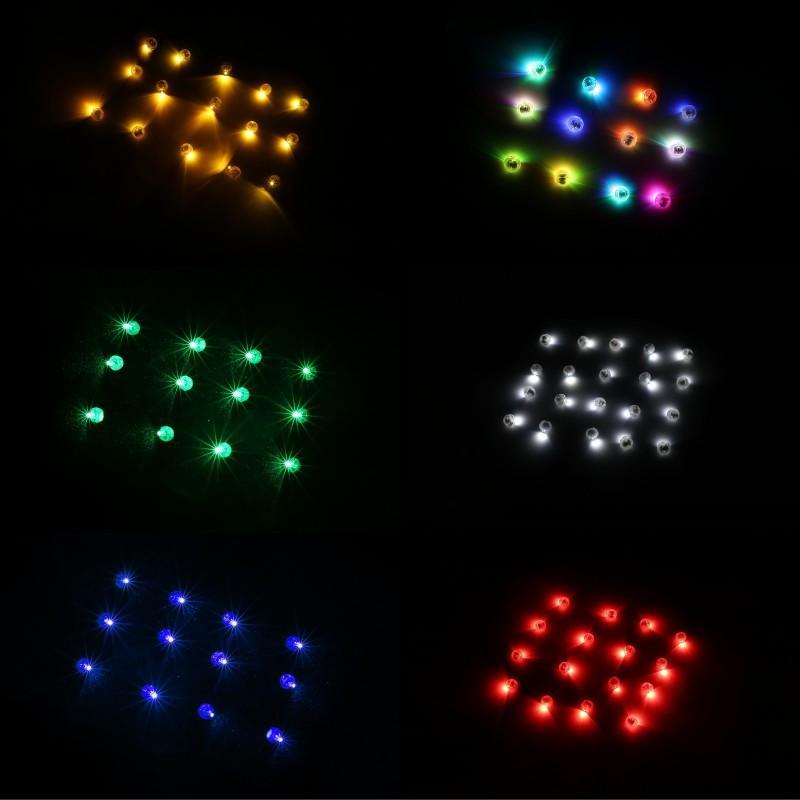 LED шар свет Светящиеся шары Рождественский бал Световая партия Вспышки Лампы неоновые огни Шары Хэллоуин украшения Свадьба