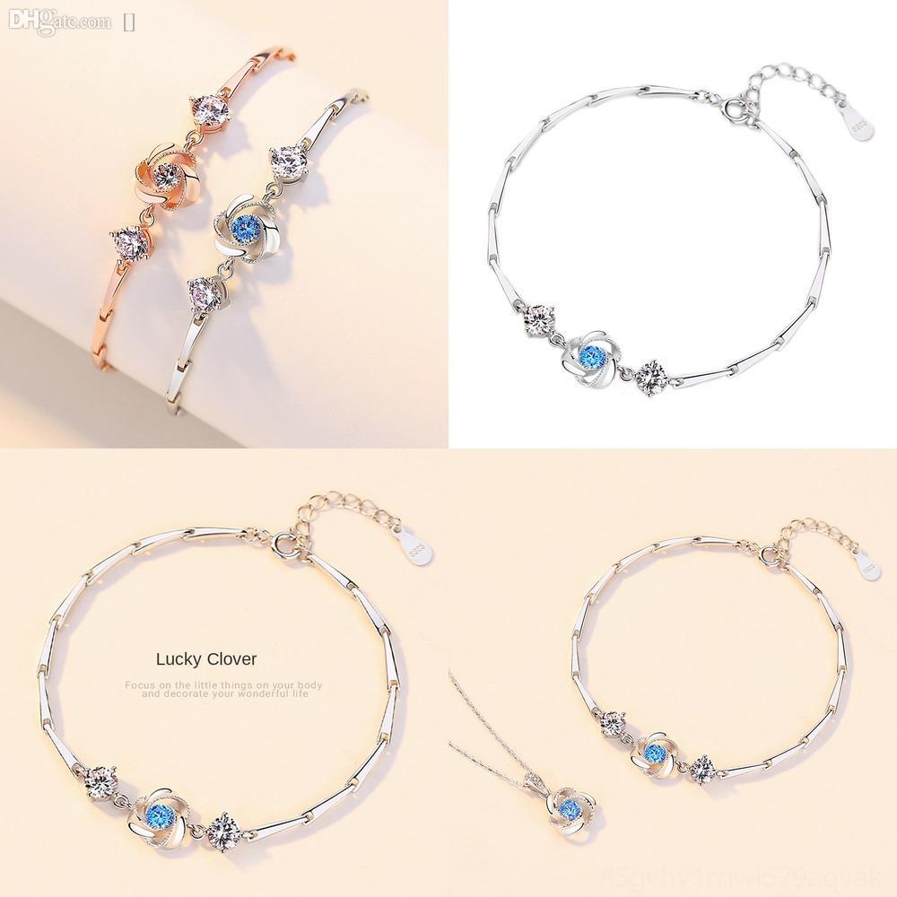 2itZd con Ssterling minimalista perlina rotondo bracelethigh-end gioielli moda delle donne di silverwomen