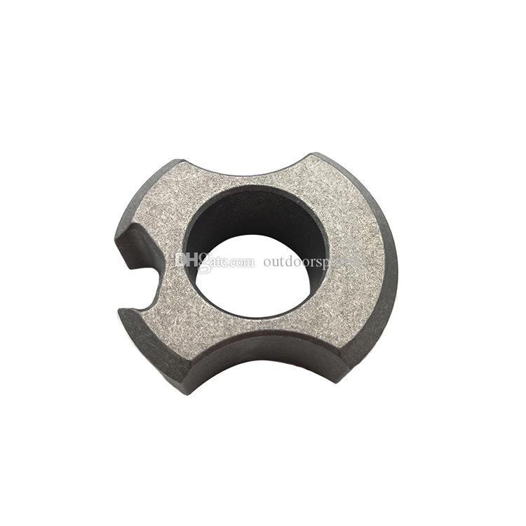 Alta qualidade liga de titânio único dedo junta de bronze duster fivela frete grátis Boxe Equipamentos de Proteção anel de tigre