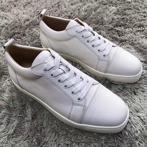 Bassa top rosso scarpe da ginnastica fondo per uomini casuali uomini di lusso leatherSpikes nero moda scarpe da donna 2019 progettista libero grandi 32 CS02