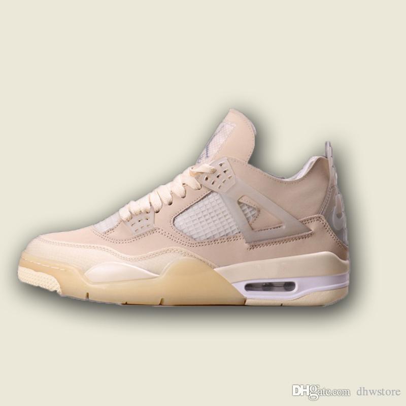 NOUVEAU 2090 Tràvis Scötts 4 Mens Basketball Chaussures 4S Champignons Bred White Voile blanche Unc Blanc Ciment Rasta Raptors Retrores Varsity Royal Sneakers