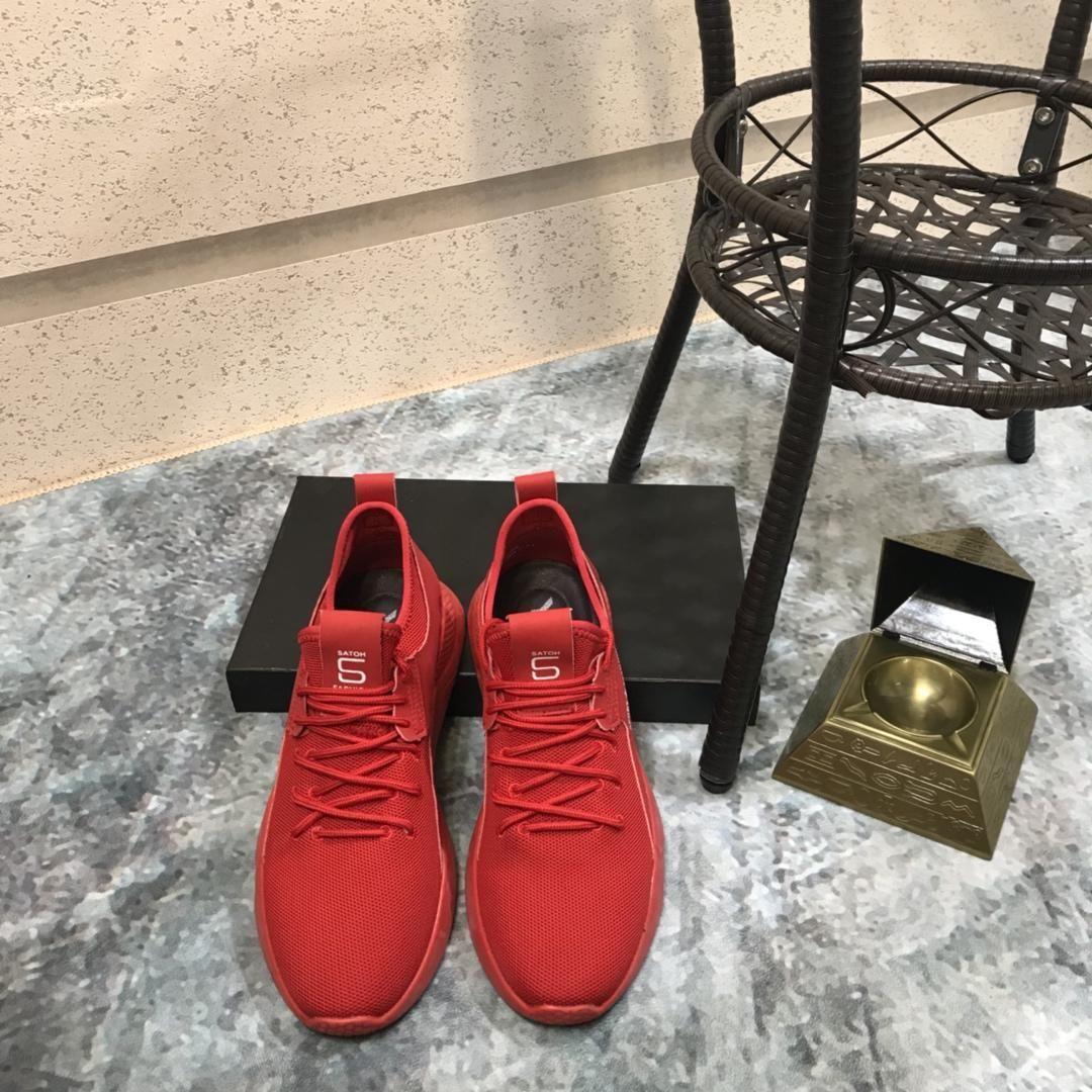 2019y Männer; S-beiläufigen Sport-Schuh High-End kundenspezifische Marken-Art- und flache Schuhe Größe 38 ~ 45, eine ganze Reihe von Original-Schuhkarton-Lieferung