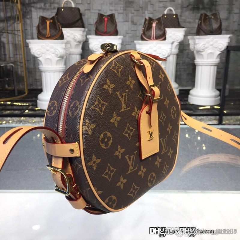 جديد BOITE CHAPEAU SOUPLE M52294 بويت الفاتحة souple حمل حقيبة أزياء المرأة حقيبة أعلى جودة الحجم 21.5 * 7 * 20CM مع مربع