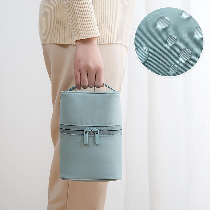 Tasche Makeup Tragbare Handtasche Damen Up Box Nylon Waschen Kosmetikspeicher Machen Holding Neue 2020 Makeup Beutel DVVVQ