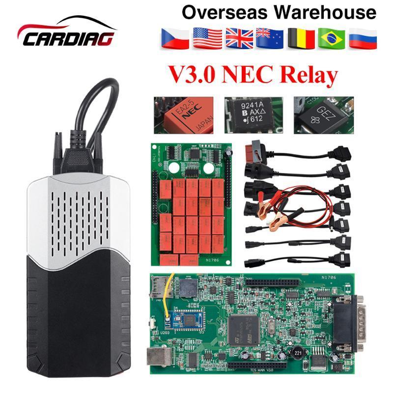 CDP TCS CDP Pro Plus 2020 R3 / 2020,00 pour le lecteur de code keygen câbles de voiture CAR / TRUCK OBD2 outil de diagnostic identique MultiDiag pro MVD
