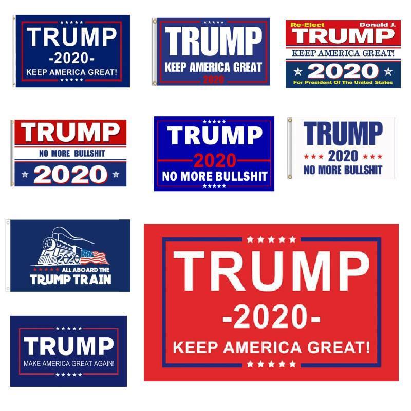 ترامب العلم 90 * 150 cm2020 إبقاء أمريكا العظمى مرة أخرى لأمريكا الانتخابات الرئاسية الأعلام رابحة cheaoer