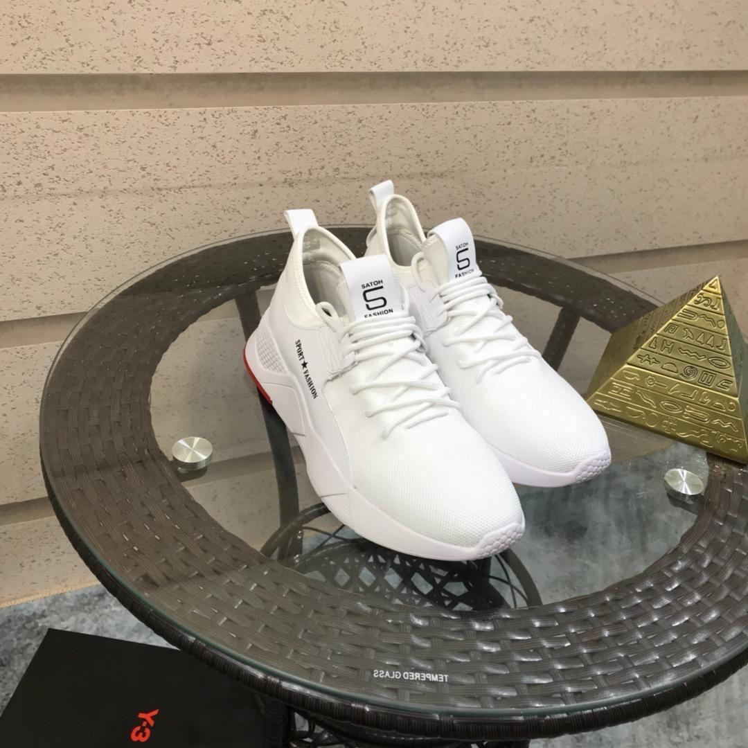 2021d Men '; s Scarpe sportive casual Alta -Fine personalizzato di marca piana di modo calza il formato 38 ~ 45, una serie completa di scarpa scatola originale di consegna