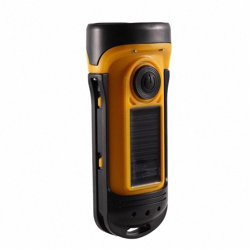 Portable FM Flashlight Support Led Emergency Lighting Hand Crank Generator Radio Dynamo Power Hiking And Camping Camping & Hiking Supp XIy6#