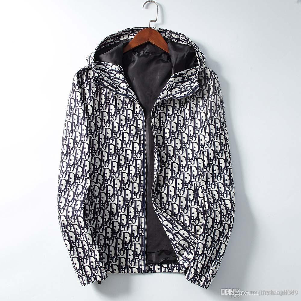 19S Erkekler Kadınlar Tasarımcı Ceket Coat Lüks Kazak Hoodie Uzun Kollu Sonbahar Spor Fermuar Marka WINDBREAKER Erkek Giyim Artı boyutu Hoodie