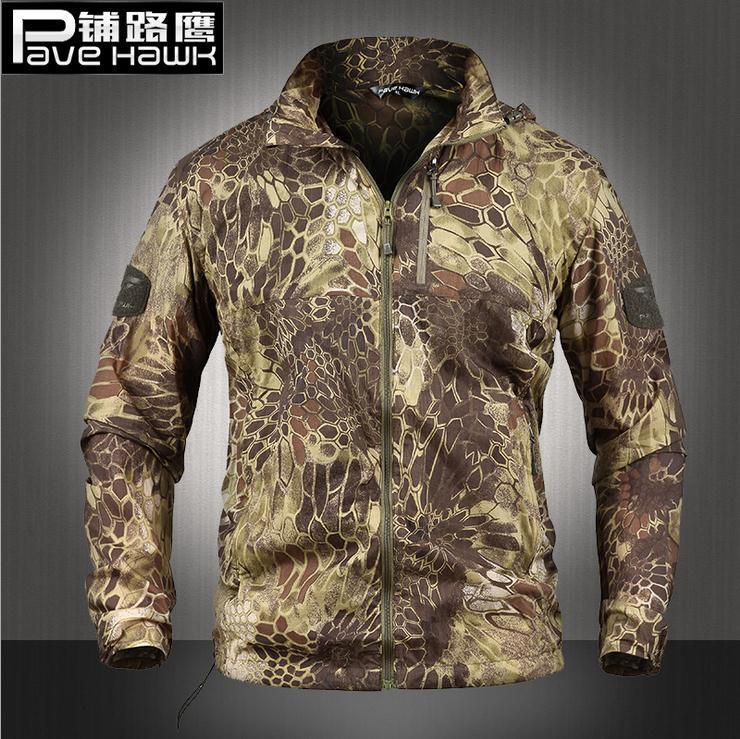 HOT 2020 Outdoor Summer Sport Ultra-light Tactical skin Camouflage clothing Windbreaker Prevented bask UV skin Waterproof Jacket