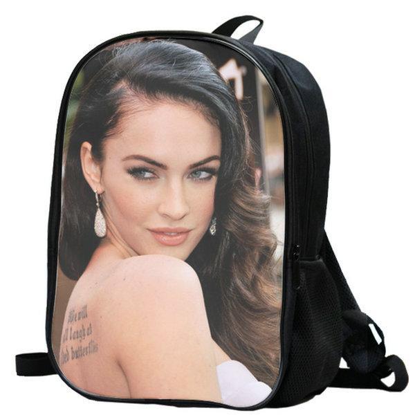 ميغان حقيبة الظهر دنيس فوكس يوم حزمة نجمة مراوح حقيبة مدرسية pop packsack جودة حقيبة الظهر الرياضة في الهواء الطلق daypack