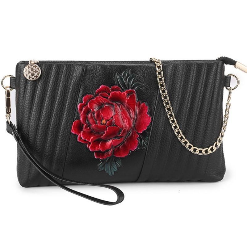 Flor Mulheres Shoulder Bag Bolsas mulheres sacos Versão Wild Girls quadrado pequeno Messenger Bag Bolsa Feminina