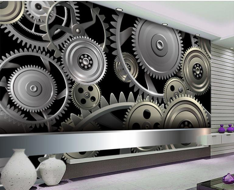 3D Настенная картина обои Home Decor Green Mountain Waterfall Полный вектор `современный творческий металл 3D Photo Wall Paper Для Гостиная Спальня