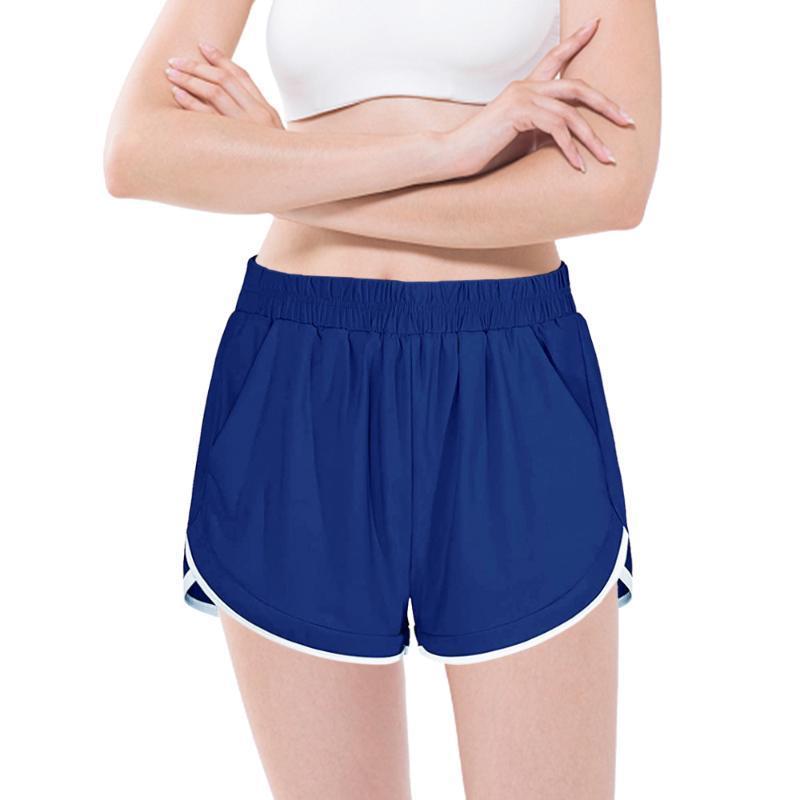요가 복장 여자 스포츠 반바지 테니스 스커트 소녀 여성 체육관 짧은 댄스 실행 휘트니스 조깅 훈련 팬츠