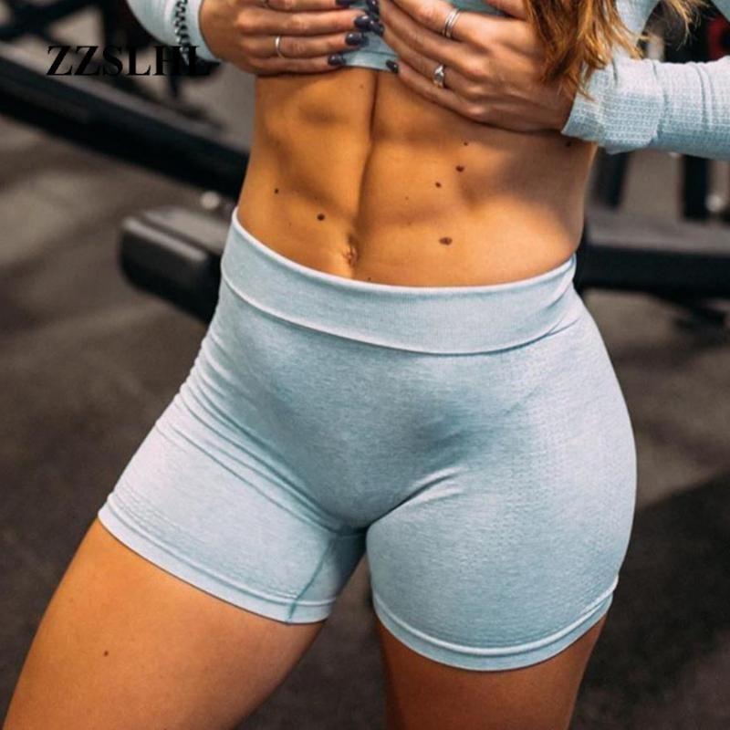 Training Seamless Vital Shorts für Frauen Push Up Gym Shorts mit hoher Taille Yoga-Sets Fiteness Scrunch Beute Lauf Gamaschen Outfits