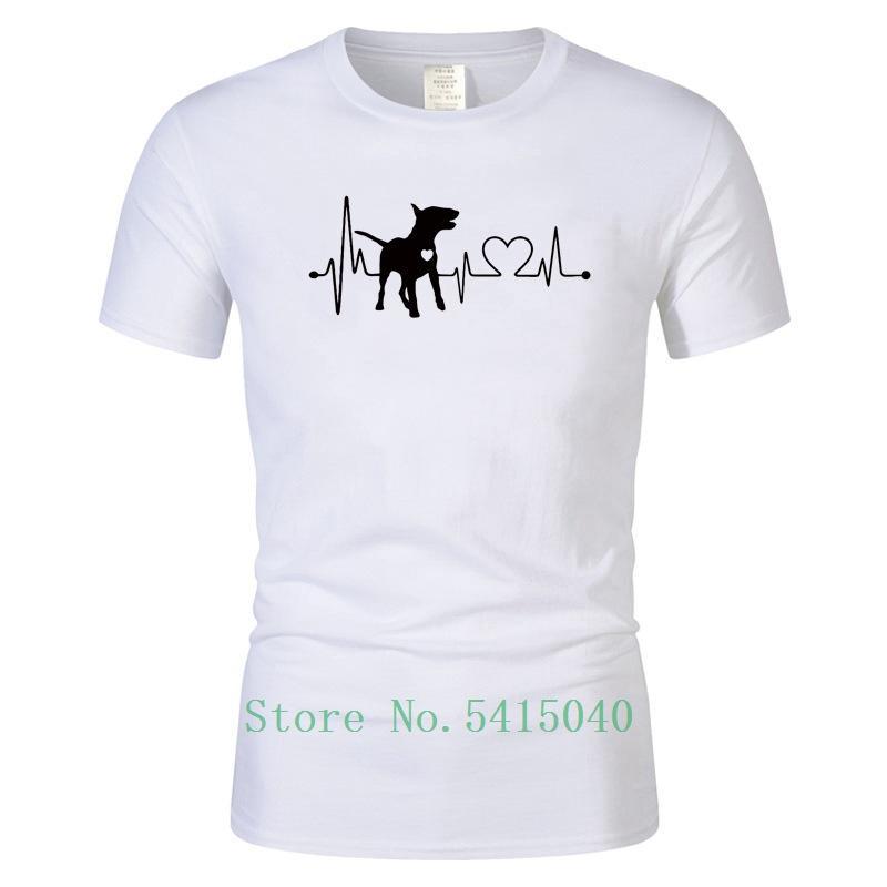 Terrier T Verão New Touro Camisetas masculinas Tops T-shirt Camisetas de manga curta Hip Hop Casual Man Rocha