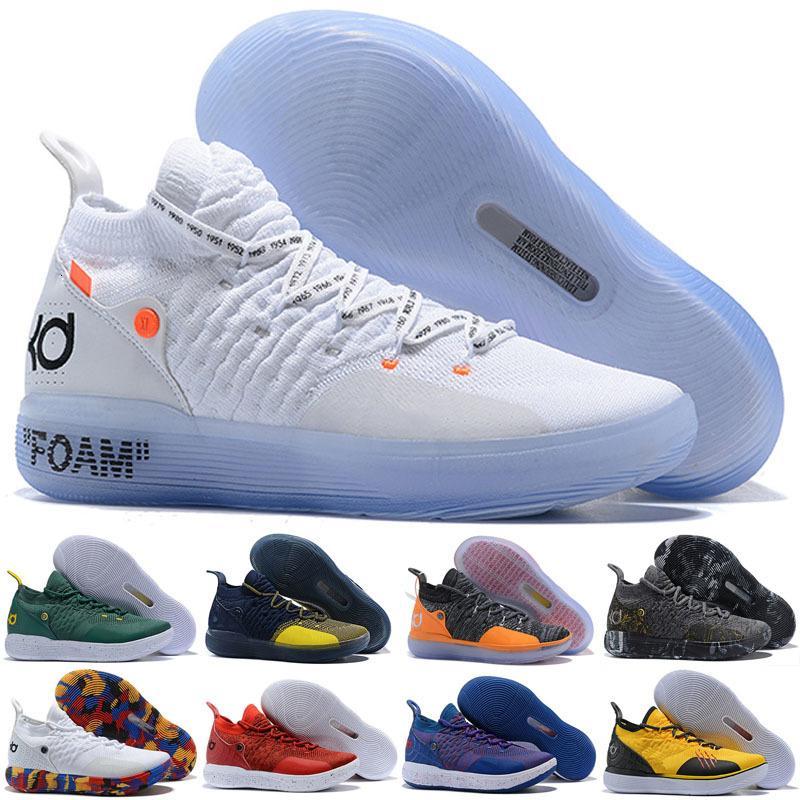 2020 New KD 11 EP White Orange Foam