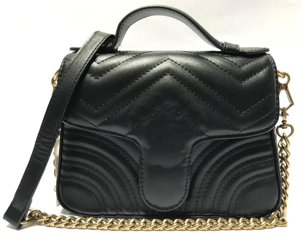 High Quente Quente Senhoras Color 5 Retro Impressão Messenger Bag Mulheres Bolsa Bolsa Chain Chain Bolsa Moda QBcem