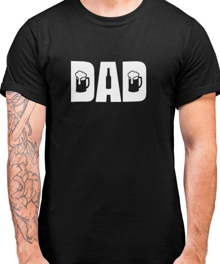 Alcool Bière papa T-shirt 57 pères mens cadeau jour papa papa T-shirt femmes hommes de sport de mode de loisirs occasionnels t-shirts