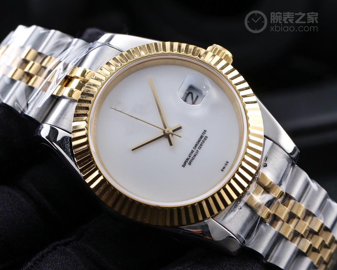 2020, 126334 Высокое качество 41 мм Размер 904L Стальные Часы 821A Автоматическая цепь Core Водонепроницаемая устричная структура корпуса наручные часы