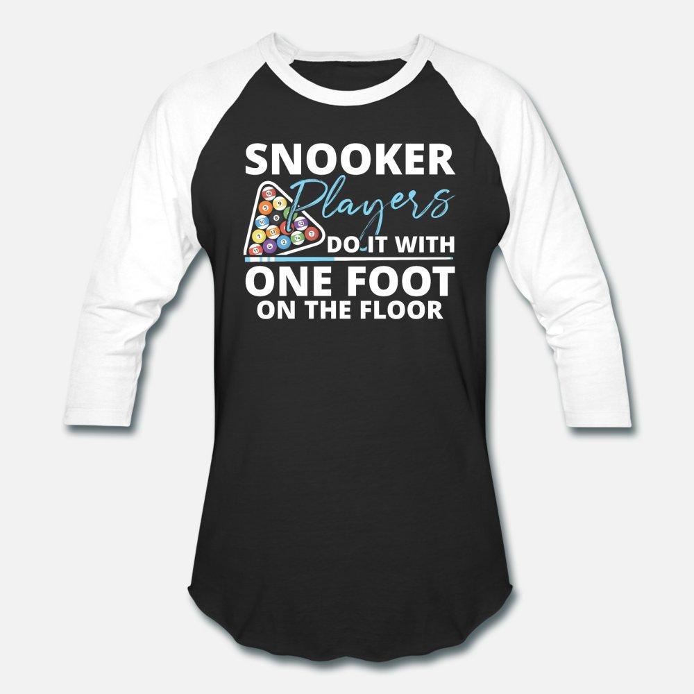 Raffreddare Snooker giocatore shirt uomini della maglietta creano 100% cotone formato S-3XL Immagini Fit camicia autentica Spring Pictures autunno