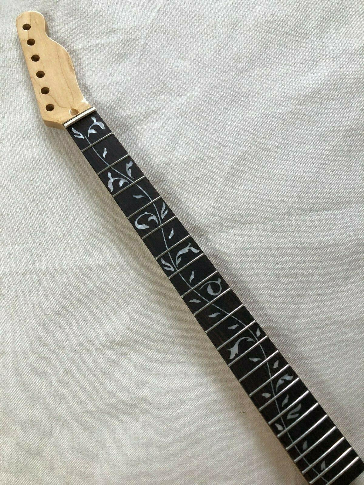 "Gloss 22 Fret Maple Electric Guitar Guitar Part Parte di palissandro Deritta in palissandro 25.5 ""Lunghezza"