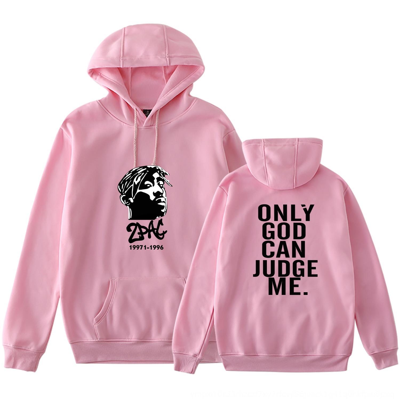 la moda suéter padrino 2pac Tupike suéter de gran tamaño rapero capucha conmemorativa vhtEi Americana de los hombres calientes de la venta
