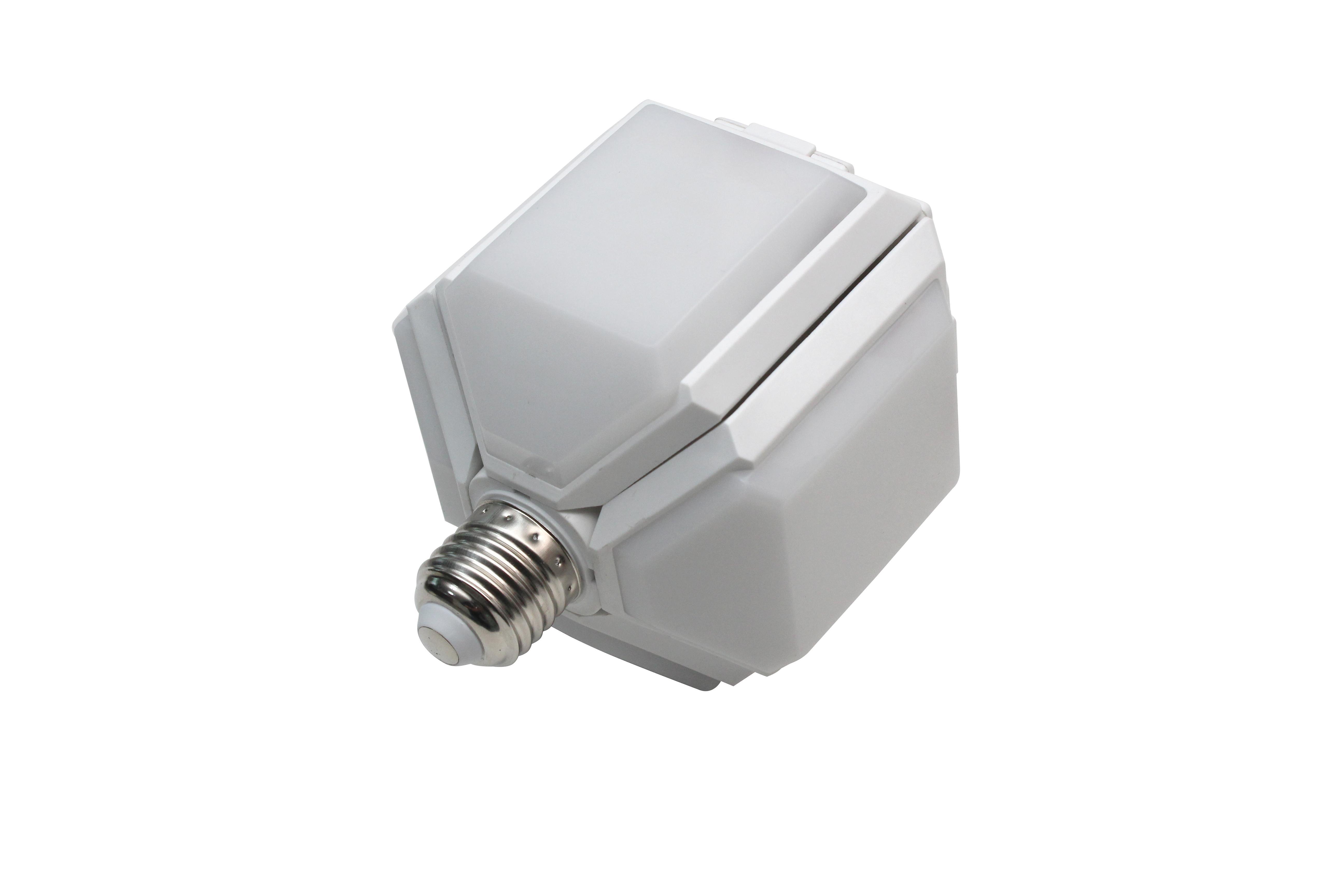 Lampadine a led pieghevoli lampada da calcio della lampada in stile della porta dell'illuminazione della durata della casa 165-265V